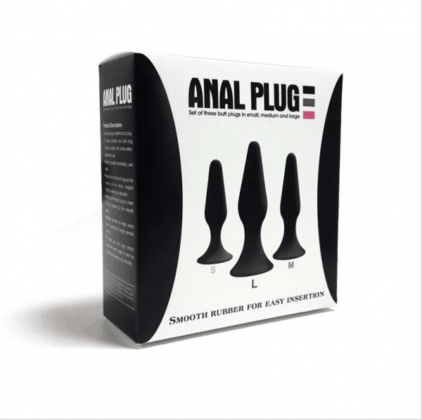 Silicone Butt Plug Kit