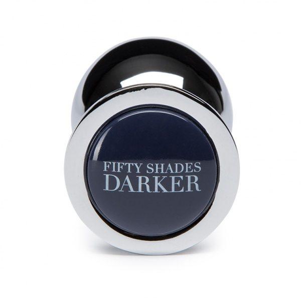 FIFTY SHADES DARKER - BEYOND EROTIC - STEEL BUTT PLUG