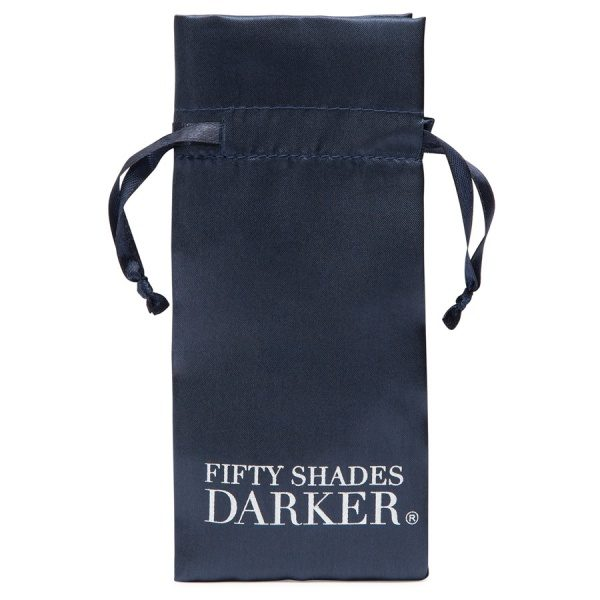 FIFTY SHADES DARKER - AT MY MERCY - BEADED CHAIN NIPPLE CLAMPS