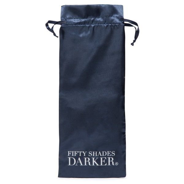 FIFTY SHADES DARKER - DELICIOUSLY DEEP - STEEL G-SPOT DILDO