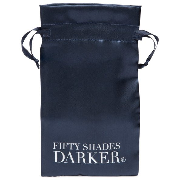 FIFTY SHADES DARKER - SOMETHING DARKER - GLASS BUTT PLUG