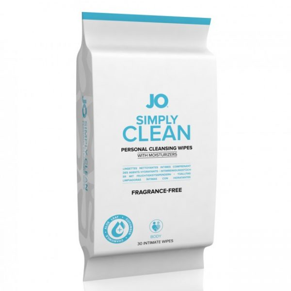 System Jo - Personal Cleansing Wipes Extra Clean