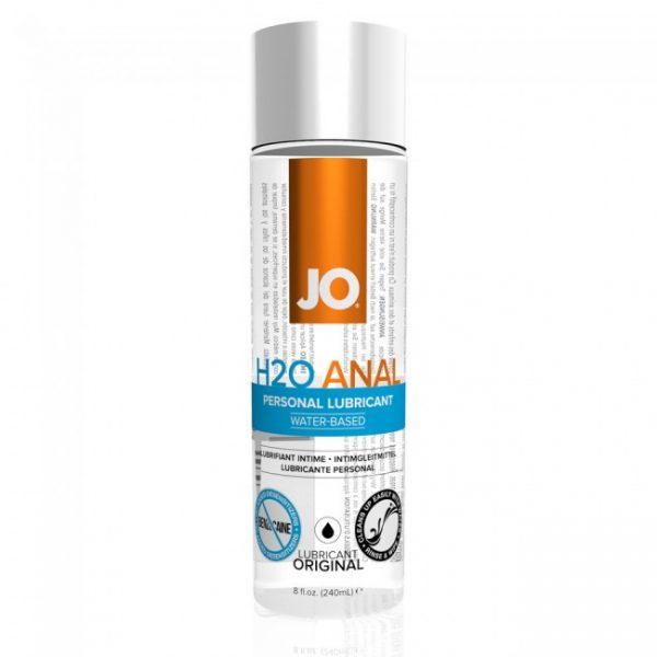 Anal H20 Waterbased Lubricant 236ml
