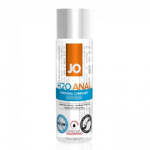 Anal Warming H20 Waterbased Anal Lubricant 60ml