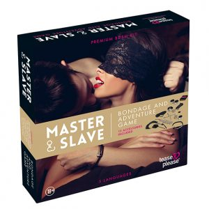 Tease & Please - Master & Slave Bondage Game Beige