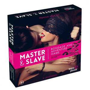 Tease & Please - Master & Slave Bondage Game Magenta
