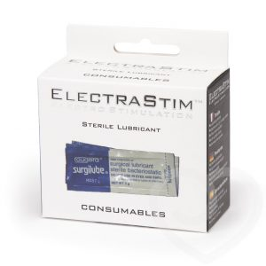 ElectraStim - Sterile Lubricant Sachets 10 Pack
