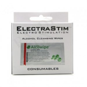 Electrastim - Sterile Cleaning Wipe Sachets - 10 Pack Toy Cleaner
