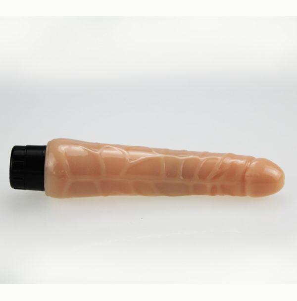 Extra Girthy Brown 9 Inch Realistic Dildo Vibrator