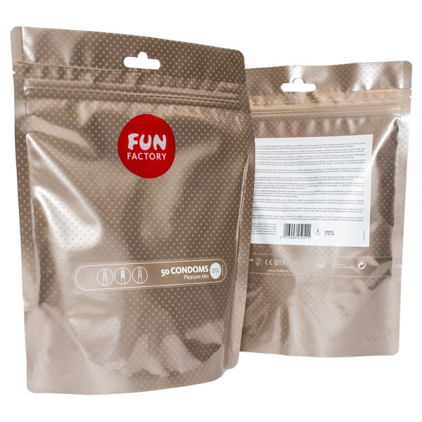Fun Factory Pleasure Mix Condom Pack of 50