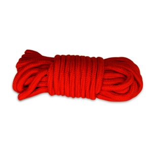 10 meters Fetish Bondage Rope Red