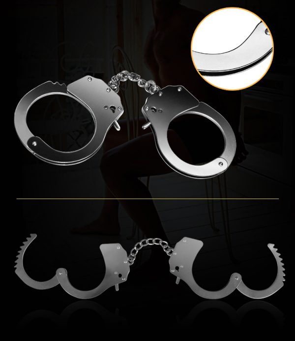 Fetish Pleasure Metal Handcuffs
