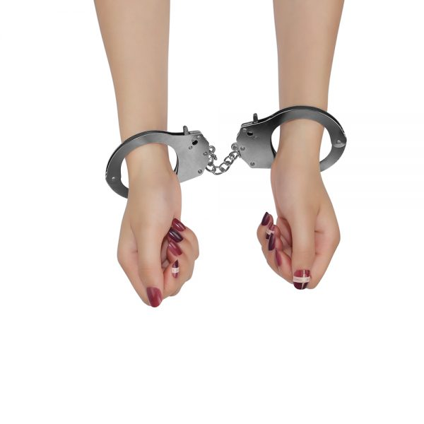 Fetish Pleasure Metal Handcuffs