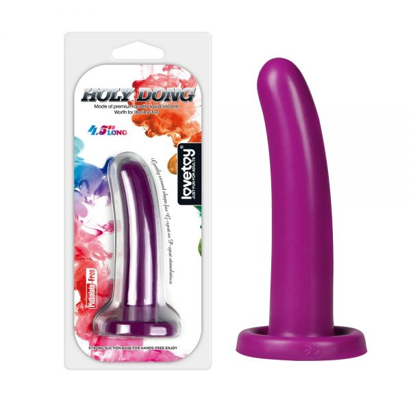 Holy Dong Medium Size Purple Dildo