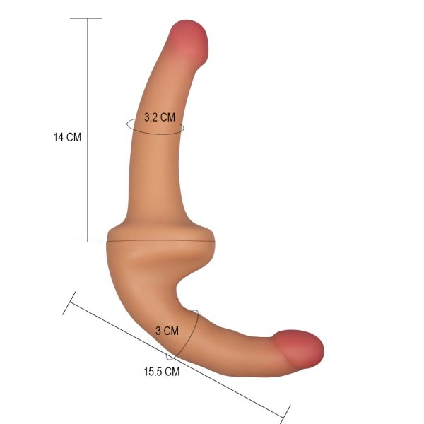 Holy Dong Premium Silicone Strapless Strap On