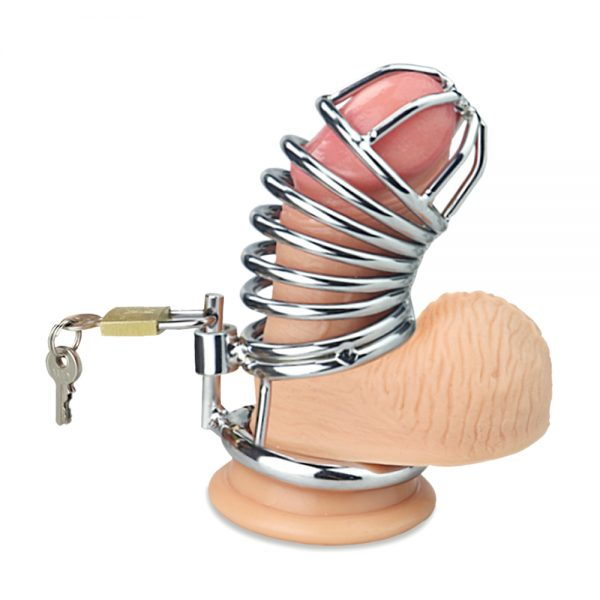 ailed Metal Chastity Cage