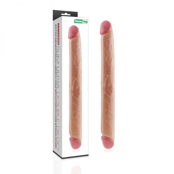 King Size Realistic Slim Ultra Double Dildo