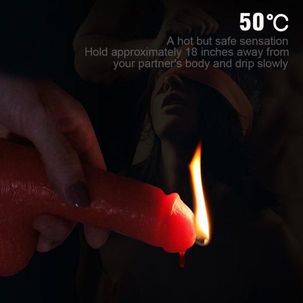 5 Inch Bondage Fetish low temperature sex Candles