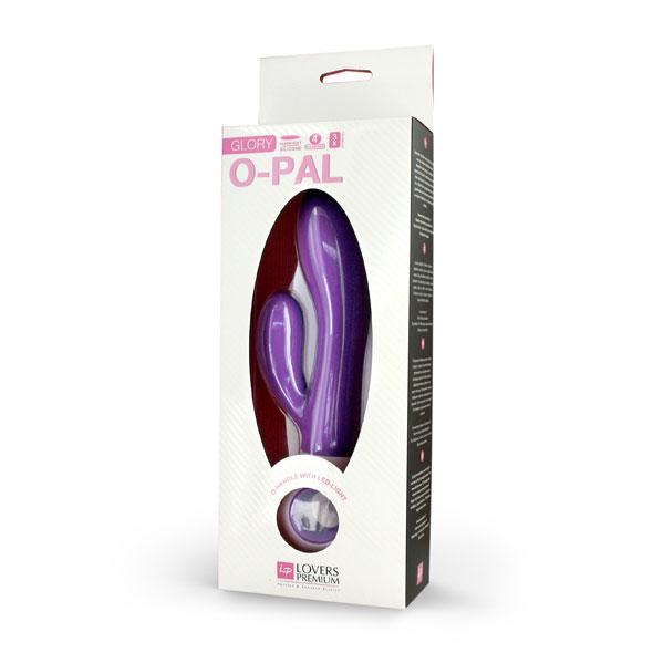 Lovers Premium - O-Pal Rabbit Vibrator Glory Purple