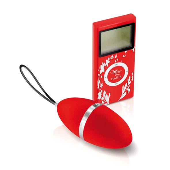 Plaisirs Secrets - Wireless Egg Vibrator Red