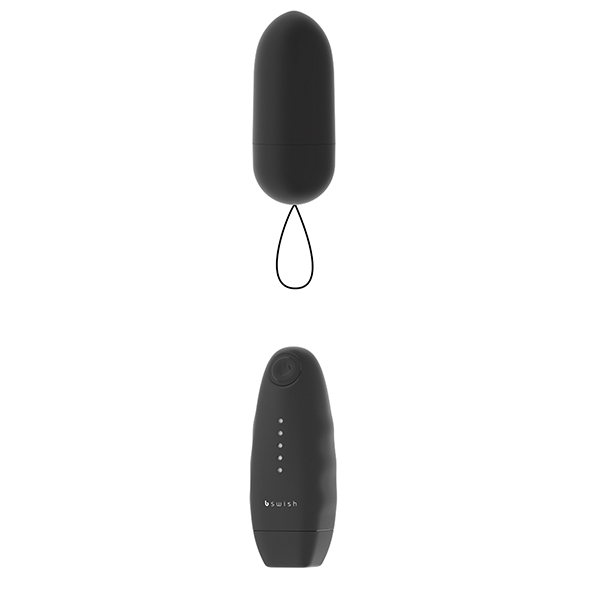 B Swish - Bnaughty Classic Unleashed Vibrating Bullet Black