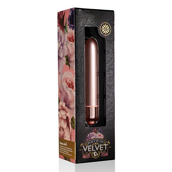 Rocks-Off Touch of Velvet Vibrator Rose Blush